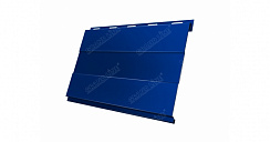 Вертикаль 0,2 Grand Line prof 0,5 Atlas с пленкой RAL 5005 сигнальный синий